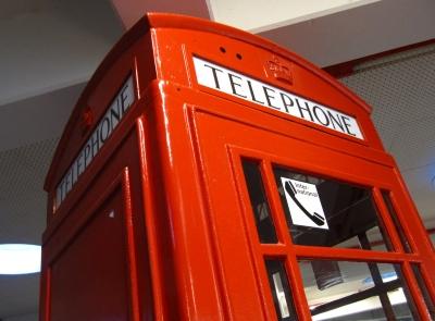 Telefonzelle - very british