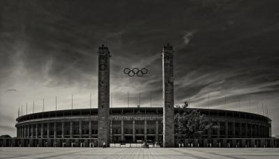 "Berlin Olympiastadion ""Marathontor"""