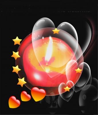 Licht zum Herzen