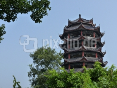 China: Geisterstadt Fengdu (Yangtse)