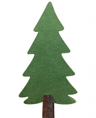 Tannenbaum - Bastelarbeit aus Holz