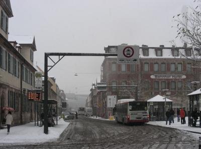 Goethestraße - Winter 2010