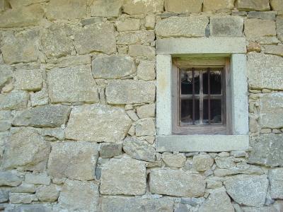 Fenster im Bauernhaus