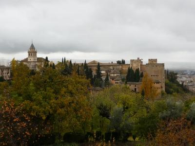 Alhambra im Herbst