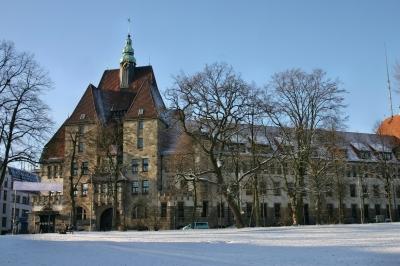 das alte Polizeihaus in Bremen