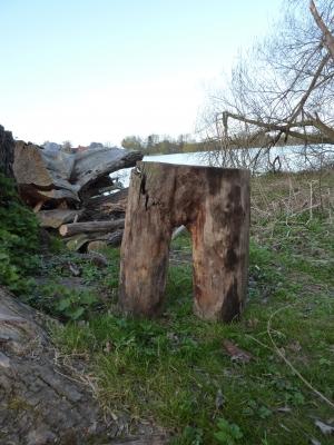 Die Hose des Holzfällers