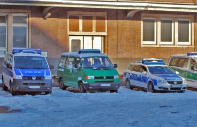 Fahrzeuge der Bundespolizei