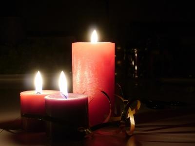 Kerzenschein . . .