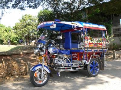 Tuk-Tuk in Phimai, Thailand