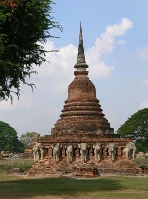 """Wat Sorasak"" Sukhothai, Thailand"