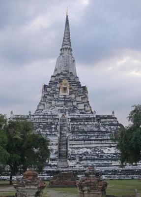 """Wat Phu Khao Thong"" Ayutthaya Thailand"