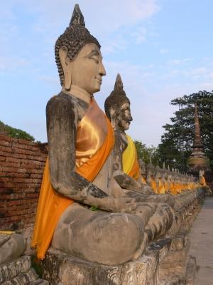 Wat Yai Chaimongkhon, Ayutthaya, Thailand