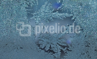 Kristalle aus Eis