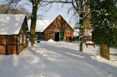Winter im Tecklenburger Land