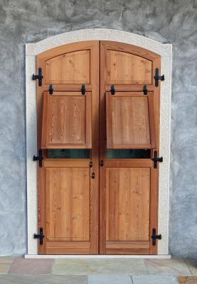 Schöne Tür aus Italien
