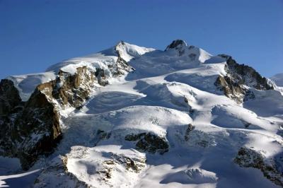 Monte Rosa mit Dufourspitze 4634m