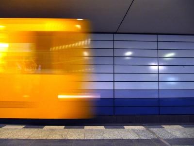 S-Bahn Abfahrt