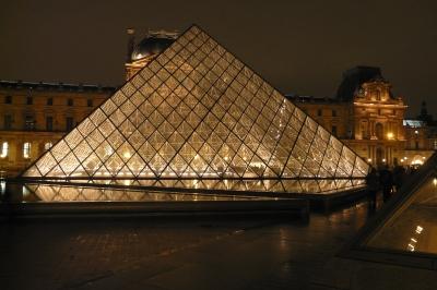 Glaspyramide Le louvre, Paris
