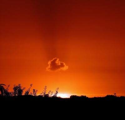 sundown - Nur eine Wolke