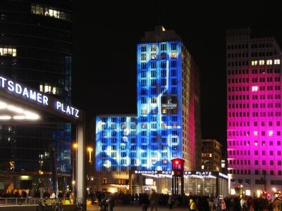 Berlin Potsdamer Platz City of Light