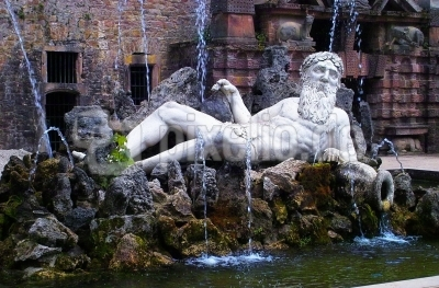 Neptunbrunnen in Heidelberg