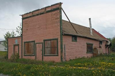 Das alte Stadttheater in Atlin