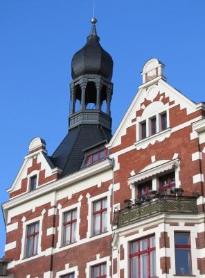 Köpenick, Fassade am Schloßplatz