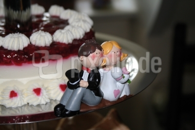 Paarfiguren Hochzeitstorte