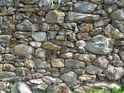 Hintergrund   Textur: Natursteinmauer