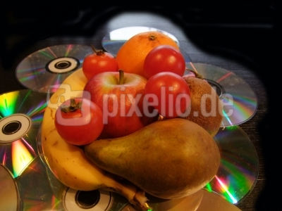 fruits on cd