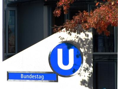 U-Bahn-Station Bundestag