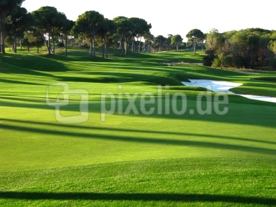 Golfen in Belek, Faldo-Kings-Course, Bahn 18