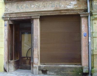 Meißen - Burgstraße - noch unsaniertes Haus