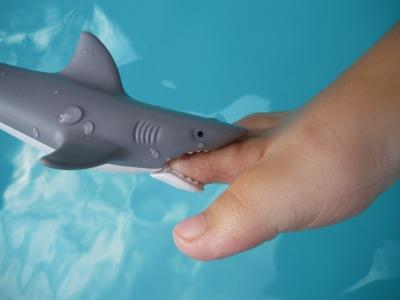 Haifischattacke