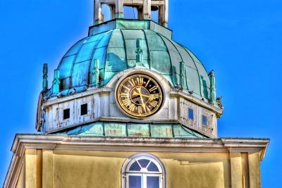 Detail vom Schlossturm in Oldenburg - HDR