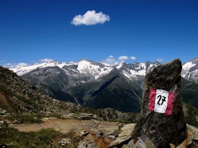 Die letzten Höhenmeter zum Gipfel