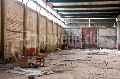 verlassene Industriehalle