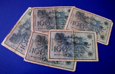 100 Mark von 1908