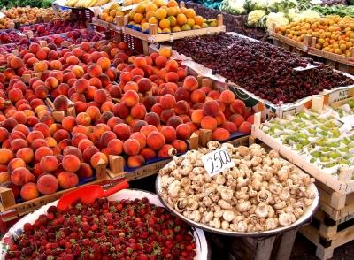 frisches Obst und Gemüse (türkischer Markt)