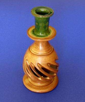 Griechischer Keramik-Kerzenhalter
