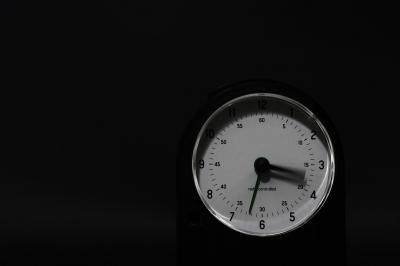 Die Zeit läuft (davon)