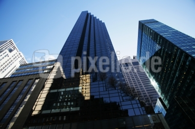 Wolkenkratzer in Manhattan