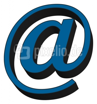 email zeichen