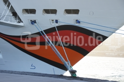 Der andere Kussmund im Hafen