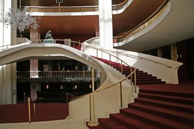 Metropolitan Opera NYC Aufgang innen