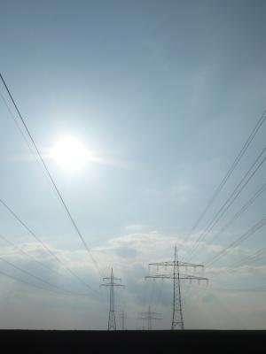 Strom und Stahlung