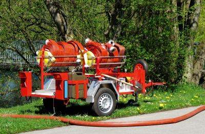 Feuerwehr: Schlauchwagen