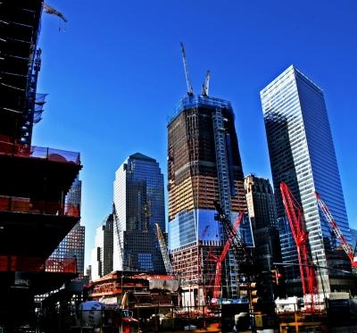 Baustelle Ground Zero März 2011