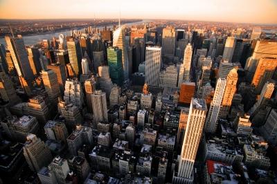 Abendlicher Blick vom Empire State Building_1