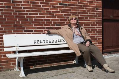 genügend Platz auf der Rentnerbank?